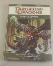 D&D Manuale mostri 4 Ed. Dungeons Dragons WOTC