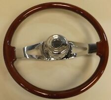 "UPI 88015 STEERING WHEEL 18"" TWO SPOKE  PETERBILT AND KENWORTH"