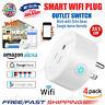 Smart Plug Outlet Switch WiFi Socket Remote for Amazon/Alexa/Google lot UK Stock
