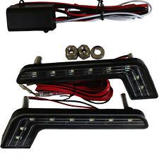 tÜV luci diurne LED R87 Modulo con centralina elettrica E4 8SMD Luce Forma a L