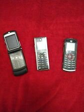Lot Of 3 Cell Phones For Parts