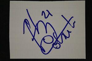 Fabricio Oberto Argentina Spurs NBA Autographed 2x3 Signed Cut Index Card
