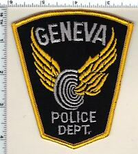 Geneva Police (Ohio) Shoulder Patch from 1992
