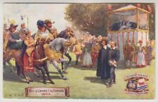 Oxfordshire postcard - Oxford Pageant - Visit of James I to Oxford 1605 - P/U