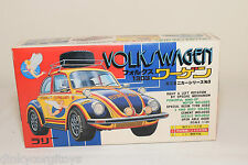 KAWAI KIT KVW 7-300 VW VOLKSWAGEN BEETLE KAFER 1303 FLYING LADY YELLOW MINTBOXED