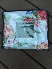 NEW!!  Ralph Lauren Melissa White~ Shower Curtain ~ 100% Combined Cotton