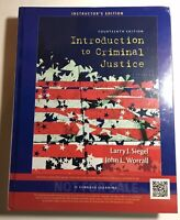 Introduction to Criminal Justice 14th Instructor's Edition