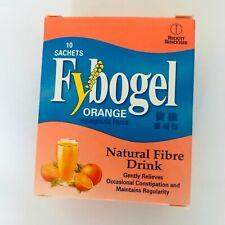 Fybogel Orange Natural Fibre Ispaghula Husk Occasional Constipation 10 sachets