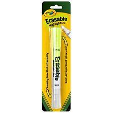 Crayola Erasable Highlighter 1 ea (Pack of 9)