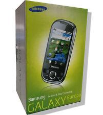 Samsung Galaxy Europa I5500 Elegant White Wifi GPS Camera Smartphone Ebony Black