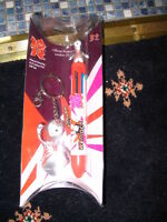 LONDON 2012 OLYMPICS WENLOCK 8 COLOUR PEN & KEYRING BRAND NEW