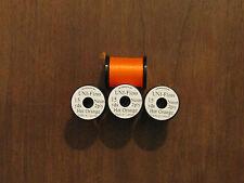 Fly Tying Uni-Neon 2ply Floss 15 yd. Hot Orange