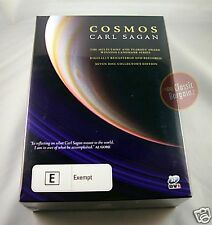 COSMOS Carl Sagan =7-DVD Box Set= Collector Edition NEW (Region 4 Australia)