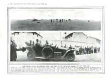 1915 Italian Aviator Camp King Victor Motor-car