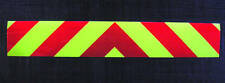 Self Adhesive Chevrons Reflective + Fluorescent 2000mm