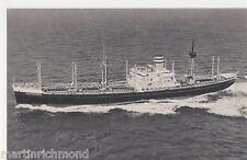 S.S. Alblasserdyk, Holland-America Line Shipping Postcard, B542