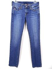 Lucky Brand Womens Lola Straight Leg Distressed Jeans Size 2/26 IS-32 R-7 GUC
