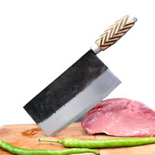 Traditional forged steel handmade slicer kitchen knife chopper tool home cooking