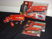 LEGO DISNEY CARS 2 8486 MACK'S TEAM TRUCK LIGHTNING MCQUEEN RETIRED COMPLETE SET