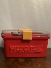 Wedgits Building Blocks large set with case