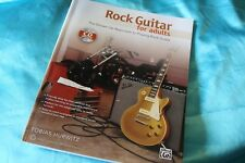 SALE! Alfred Music Rock Guitar for Adults Book & CD by Tobias Hurwitz, MPN 40175