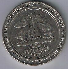 Tropicana Hotel Casino $1.00 Gaming Token Las Vegas Nevada 1988
