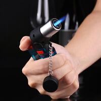 Triple Torch Jet Flame Refillable Butane Gas Cigar Cigarette Lighter Windproof ^