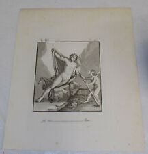 1804 Antique Print///NUDES///n