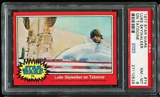 1977 Topps Star Wars Red Series 2 #74 LUKE SKYWALKER ON TATOOINE PSA 8 NM-MT