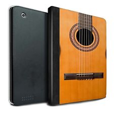 STUFF4 PU Leather Book Case/Cover for Apple iPad 2/3/4/Guitar
