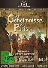 Die Geheimnisse von Paris - KOMPLETT, Teil 1-5 (Sigmar Solbach) 2 DVD NEU + OVP!