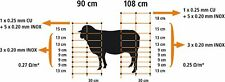 50m X 108cm SHEEP NETTING Electric Fencing SHEEP & GOAT Containment