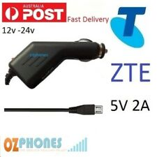 ZTE Car Charger for Telstra Tough 2 3 EasyCall T83 Dave T84 Max T54 T55 12v 24v