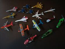 matchbox diecast airplanes & Helicopters 17pcs