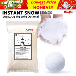 20g-20kg Instant Artificial Snow Powder Christmas Decoration Display / Kids Fun