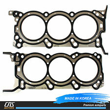 MLS Cylinder Head Gaskets Left & Right for 06-12 Hyundai Kia 3.8L OEM 223113CAD0