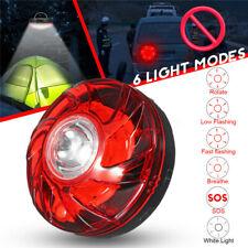 Magnetic LED Emergency Light Bottom Red Flashing Signal Warning Road Car
