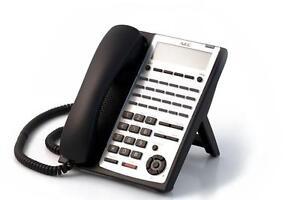 Fully Refurbished NEC SL1100 24-Button Full Duplex Telephone (Black)