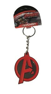 Avengers Metal Keychain Marvel Comics Logo Keyring