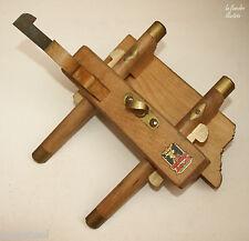 ww2 - rare rabot anglais daté 1942 salmen master  - outils anciens