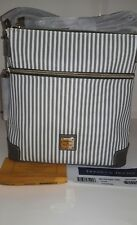 NWT Dooney an Bourke Stripe Shoulder/Crossbody Bag $188