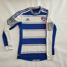 FC Dallas Long-Sleeve Jersey Kit Top - Men's Medium - Blank - MLS Soccer Toros
