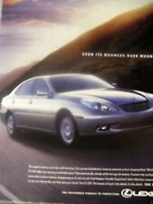 "2004 Lexus ES 330 Original Print Ad 8.5 x 10.5""-Een It;s Nuances Has Nuances"