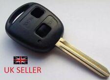 Toyota Remote 2 Button key Yaris Corolla Celica Camry Rav4 TOY43 Fob Case Shell.