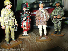 Vente figurines plomb  Del prado-Afrikacorps,capitaine tank,ecossais 1914....