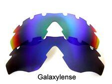 Galaxy Lentes De Repuesto Para Oakley M2 Marco VENTILADO Azul/Verde Gafas de sol