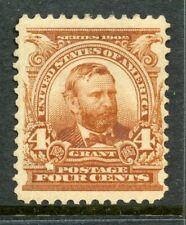 US Scott 303 Grant Mint  Lightly HingedLovely centering