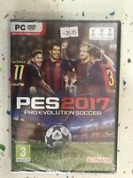 Pes 2017 PC Neuf Scellé DVD Konami PES2017 Pro Evolution Soccer Am
