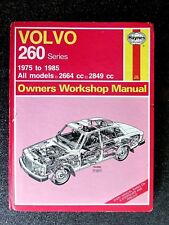 """VOLVO """" 260 series """"  1975 to 1985  SERVICE and REPAIR MANUAL"""