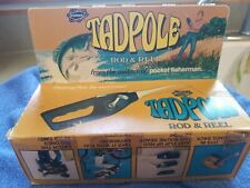 Popeils Pocket Fishermans Tadpole Rod and Reel with Original Box